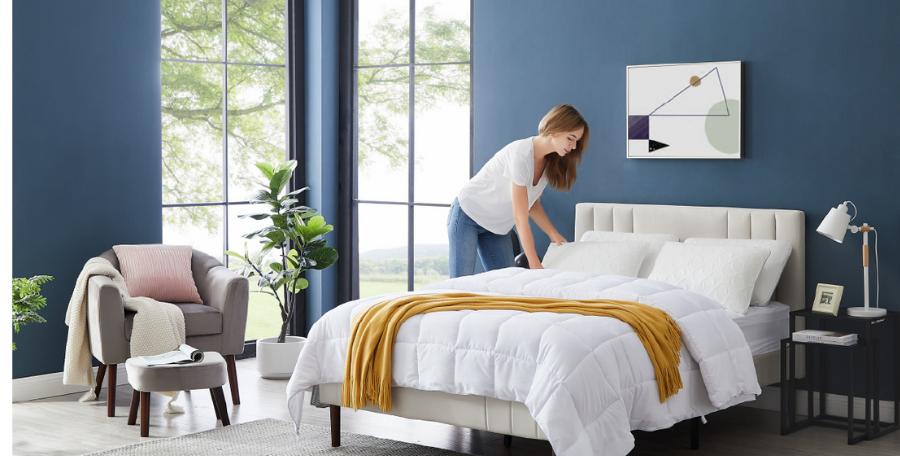 ¿sabías que tener una almohada que sea adecuada para tu cuello podría mejorar tu descanso hasta en un 20%?